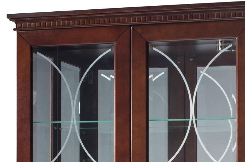 Буфет 3-дверный, массив ольхи, 130 x 135 x 43 см (Ш x В x Г)