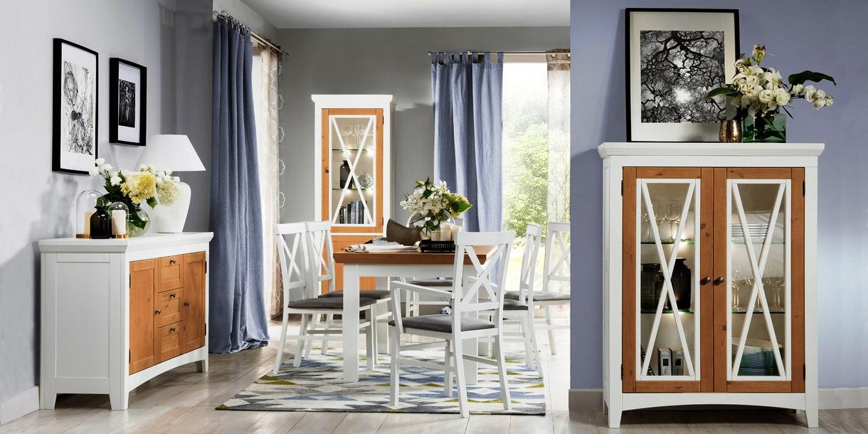 1-дверная витрина с 2 ящиками 55x196x42 см (Ш x В x Г) CALDO 10